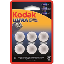 KODAK ULTRA LITH BATTERY-ASST 6PK  d